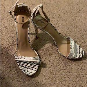 JustFab heels size 8